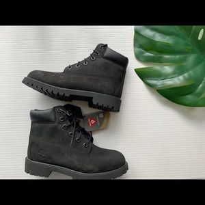 Black Timberlands Brand New!